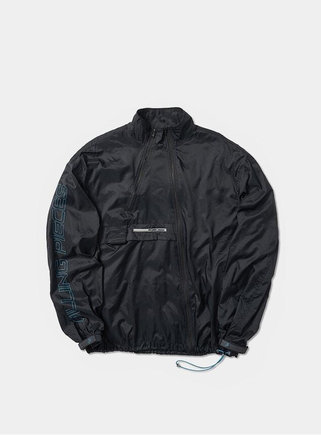 Black Diagonal Sport Jacket