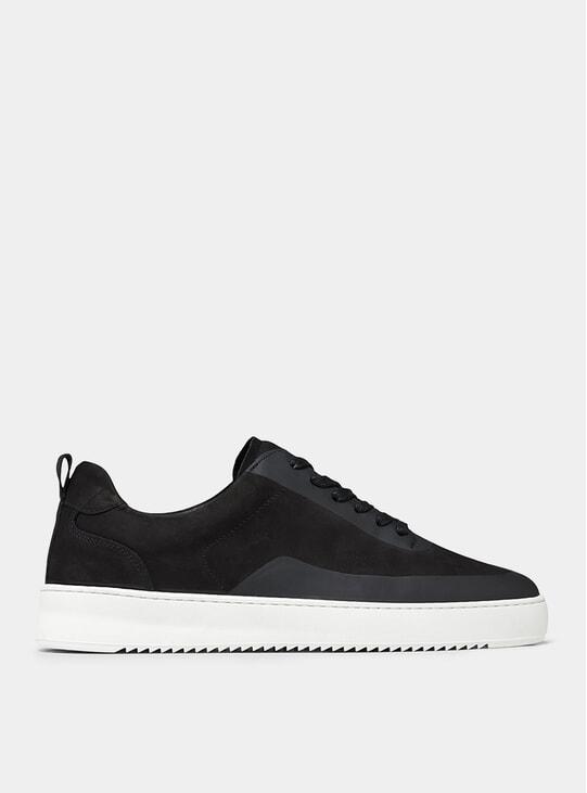 Black Mondo 2.0 Ripple Steam Sneakers