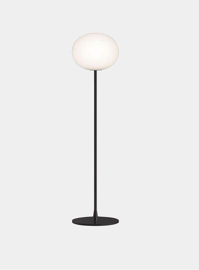 Black Glo-Ball F1 Floor Lamp