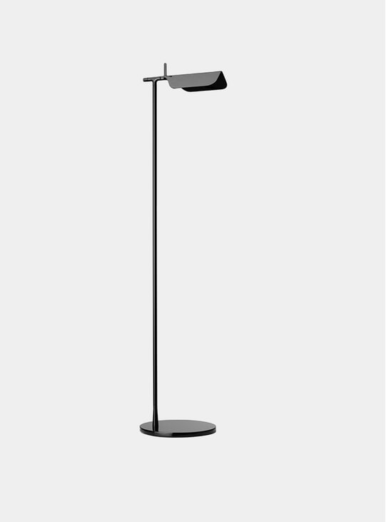Black Tab Floor Lamp