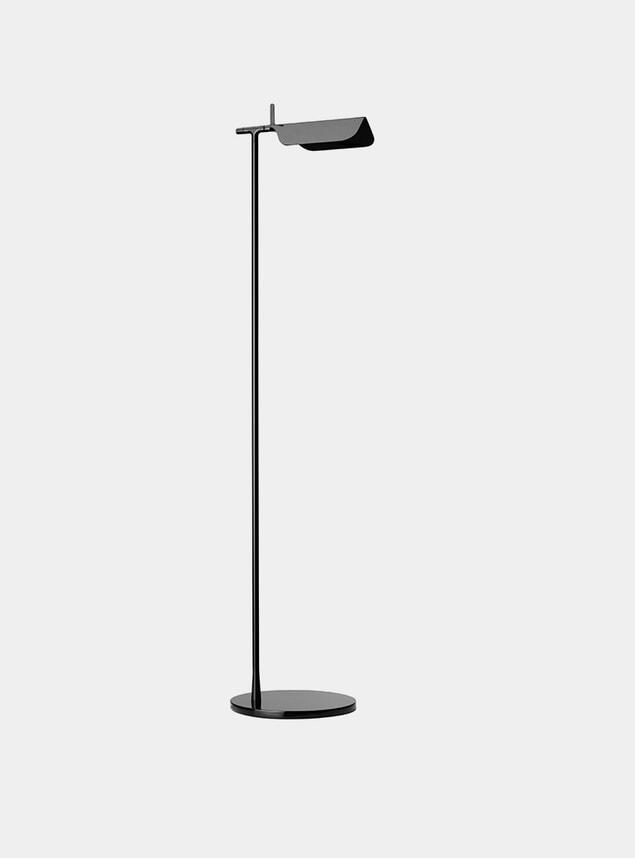 Black Tab Floor Lamp