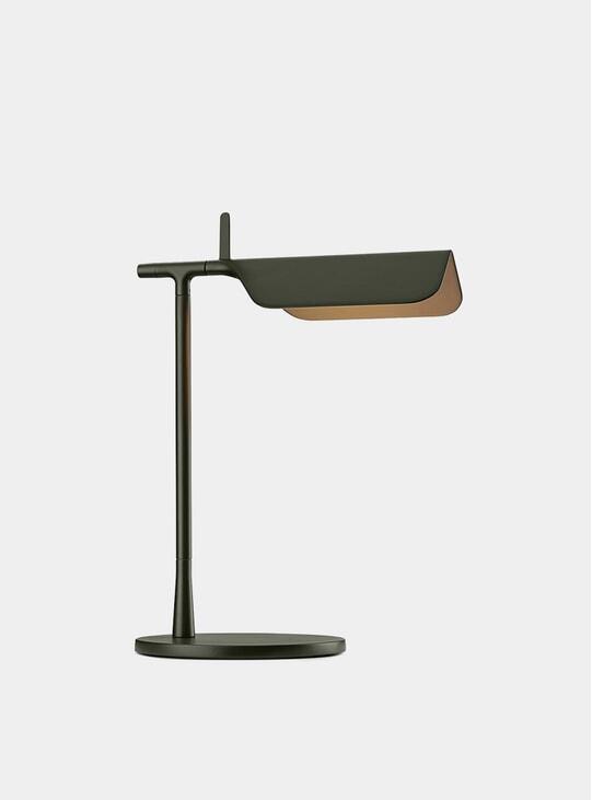 Dark Green Tab Floor Lamp