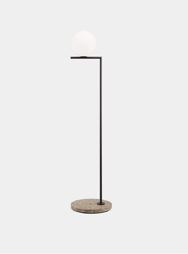 Deep Brown / Stone Base IC F1 Outdoor Lamp