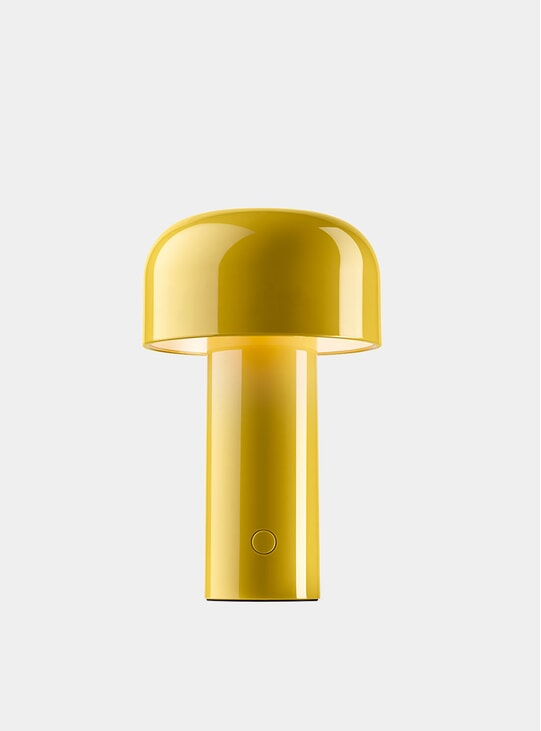 Indian Yellow Bellhop Desk Lamp