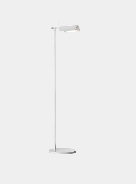 White Tab Floor Lamp