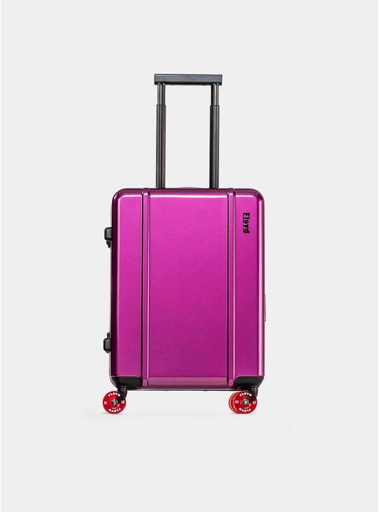 Magic Purple Cabin Suitcase