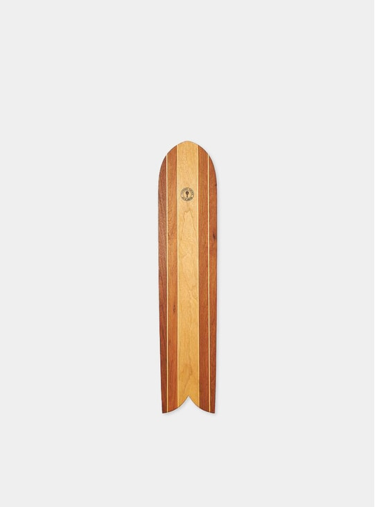 Brown Surf Board