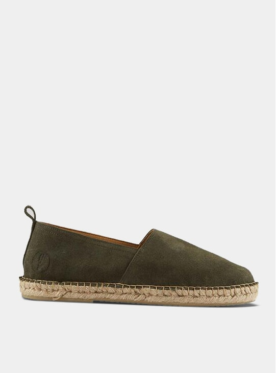Military Green Espadrilles