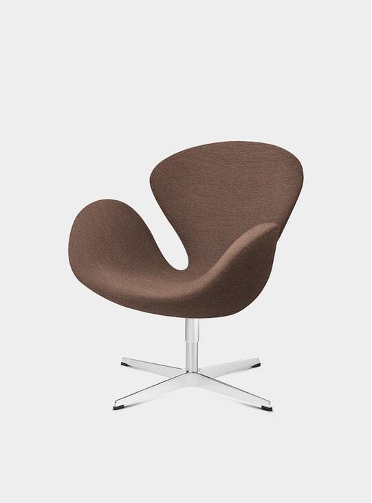 Beige / Orange Swan Chair