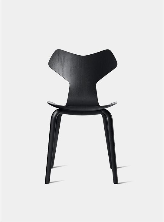 Black Grand Prix Chair