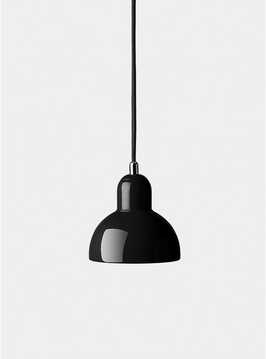 Black Kaiser Idell Pendant Light