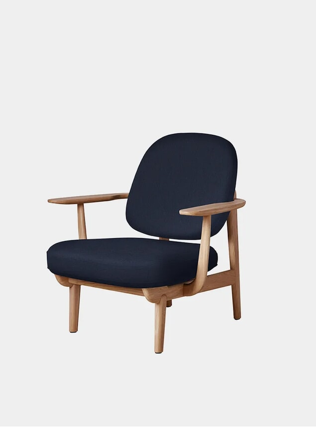 Dark Blue / Christianshavn 1155 Fred Chair