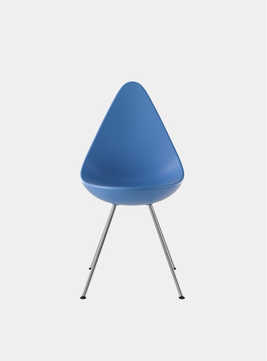 If In Doubt Blue Drop Chair
