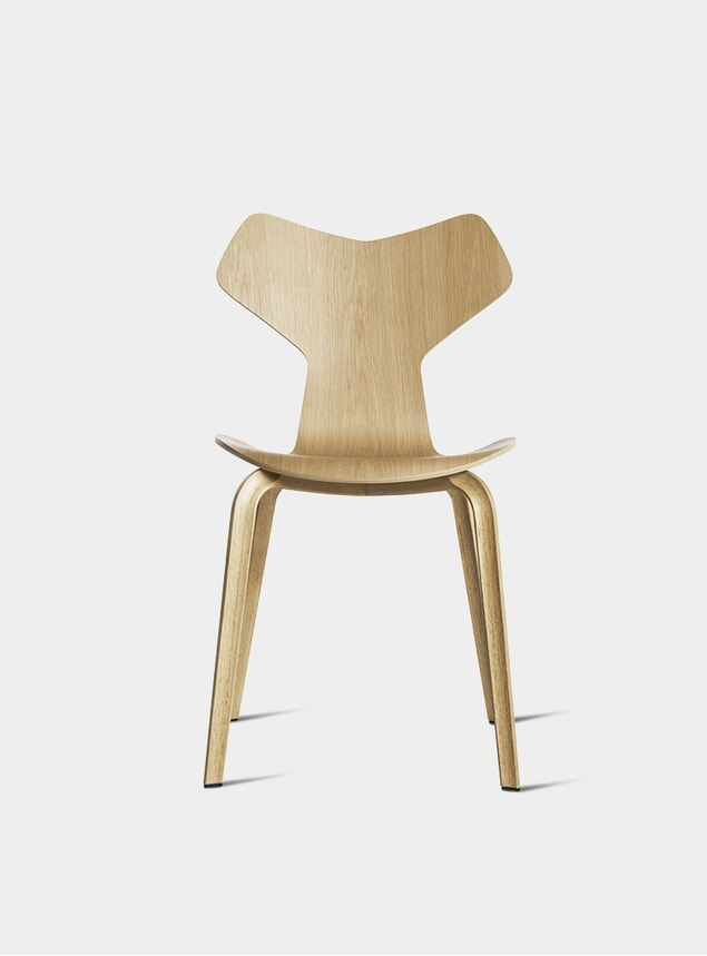 Light Oak Grand Prix Chair
