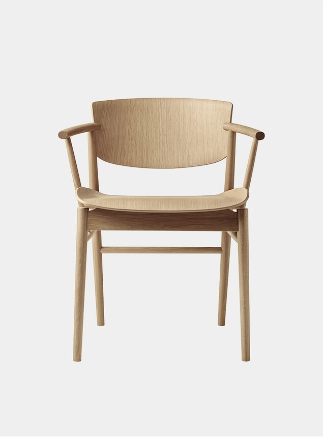 Oak N01 Chair
