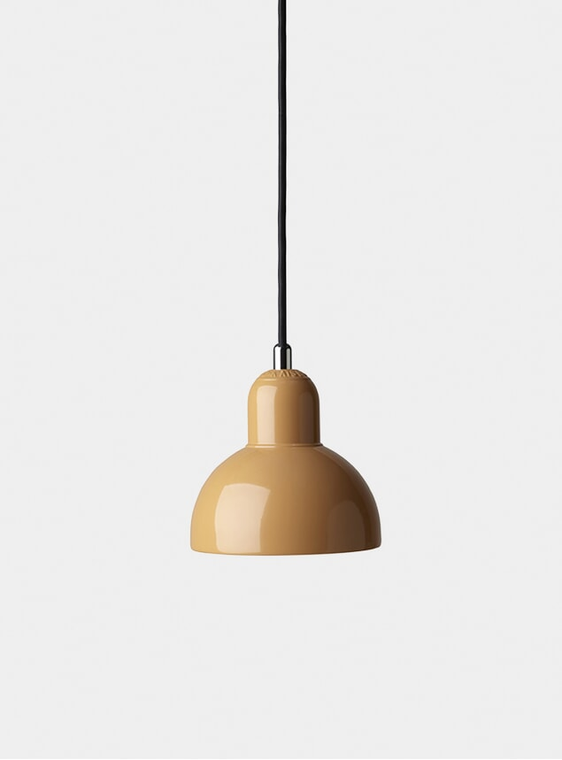 Orange Kaiser Idell Pendant Light
