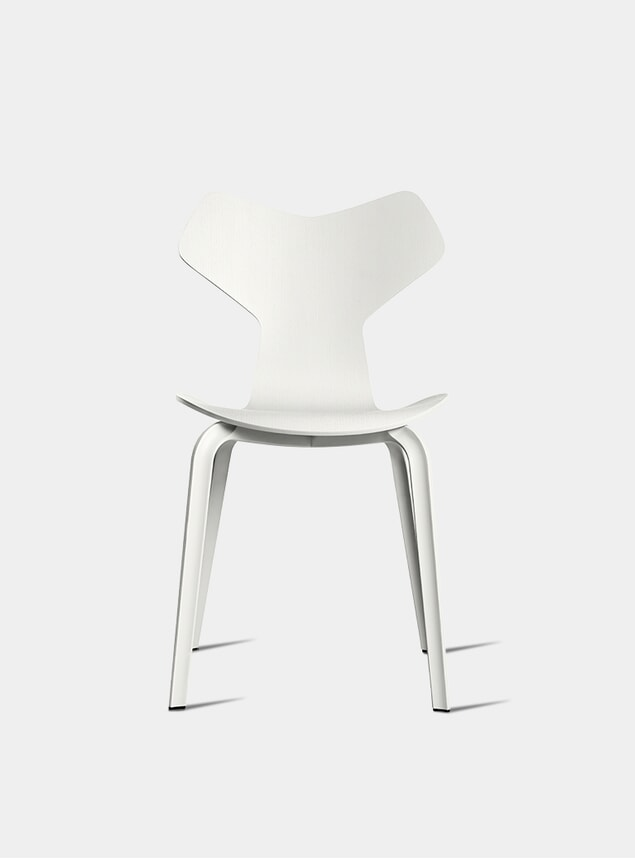 White Grand Prix Chair