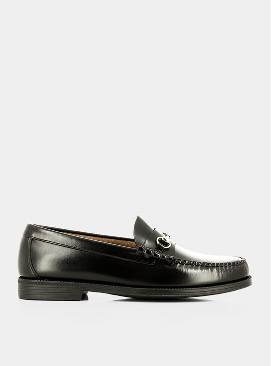 Black Leather Easy Weejuns Lincoln Loafers