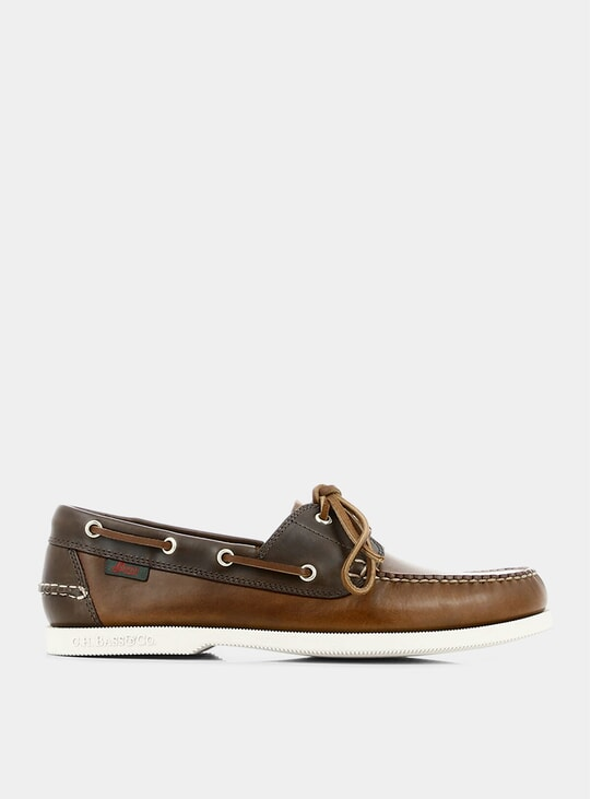 Dark Brown Jetty II Boater Shoes