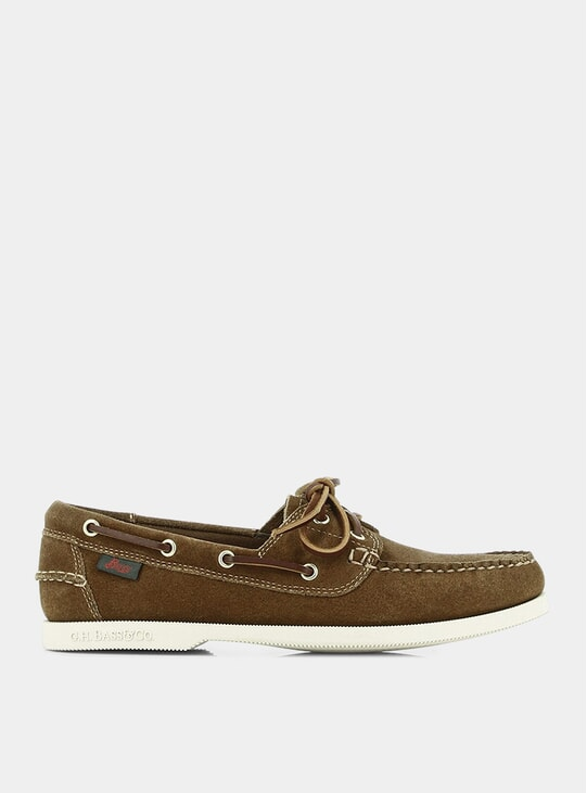 Mid Brown Jetty II Boater Shoes