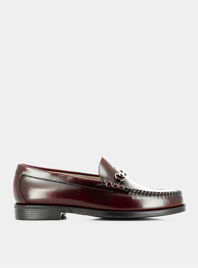 Wine Leather Easy Weejuns Lincoln Loafers