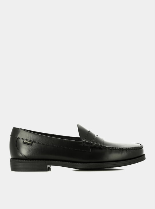 Black Easy Weejuns Larson Penny Loafers