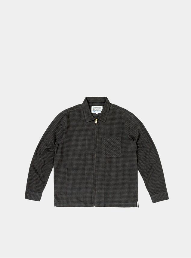 Brown /  Navy Lazy Shirt