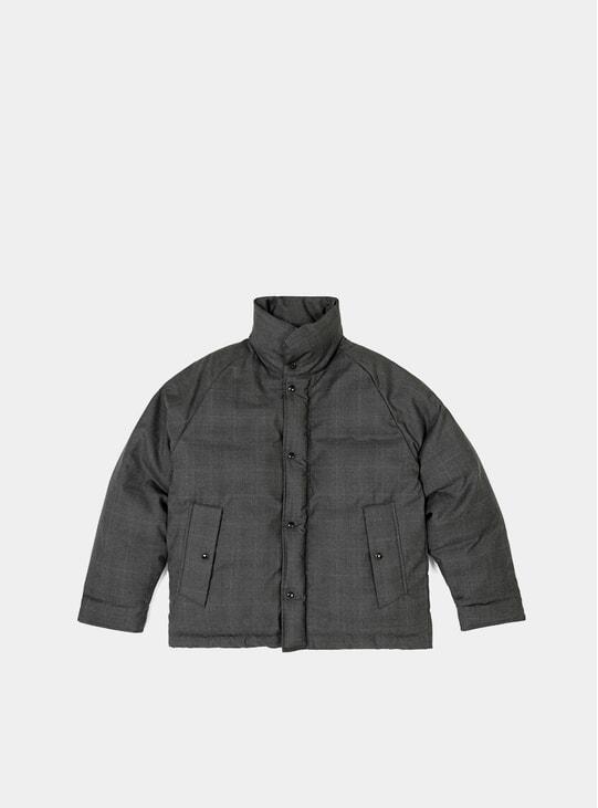 Grey Cordura Goose Down Hunter Jacket