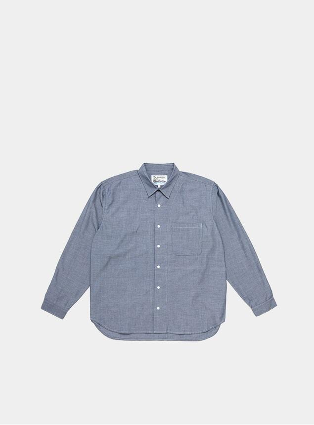 White / Navy Coolmax Shirt