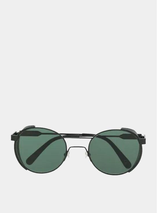 Matt Black / Green Outdoor Sunglasses