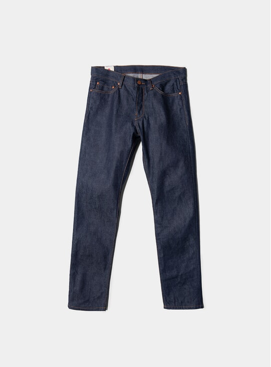 Raw Tapered Jeans