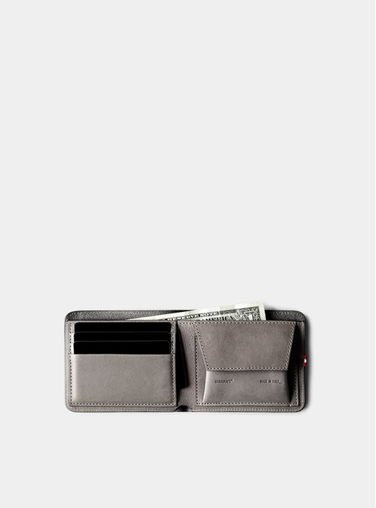 Off Grey Cash Card Coin Wallet