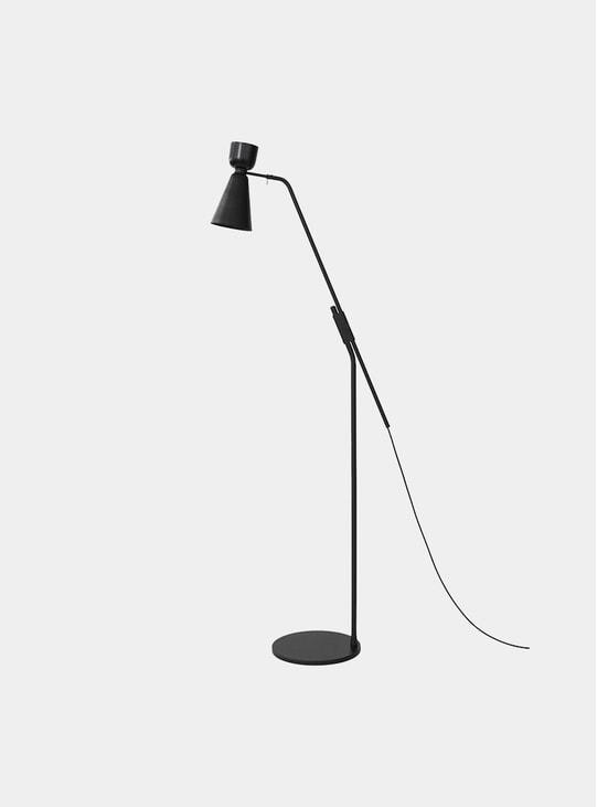 Black Alphabeta Floor Lamp