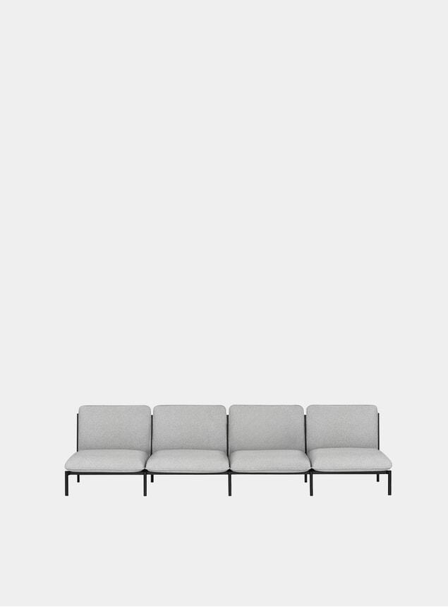 Porcelain Kumo Modular 4-Seater Sofa