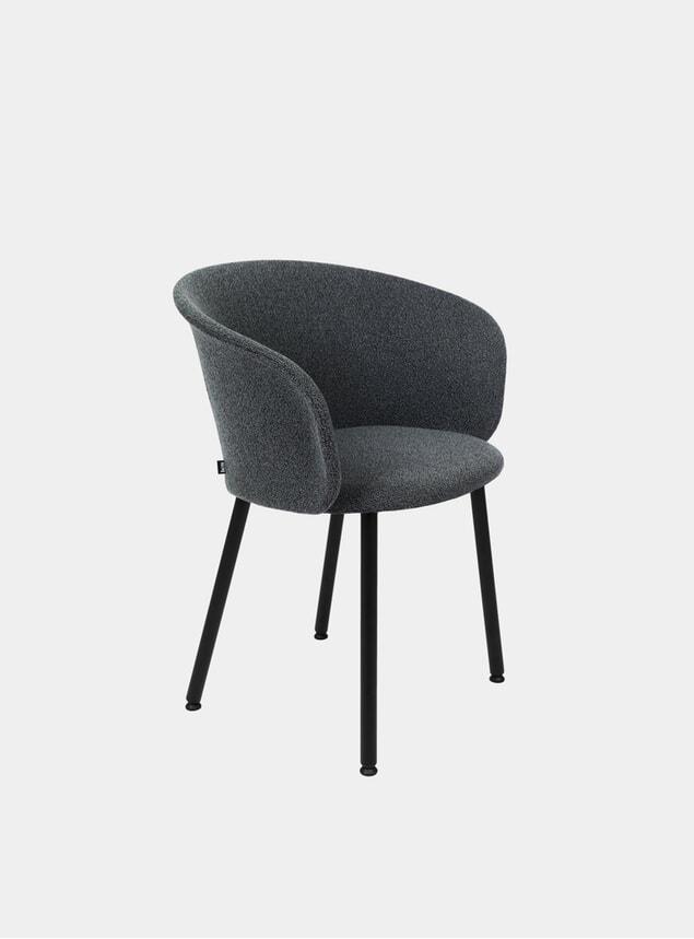 Graphite Kendo Chair