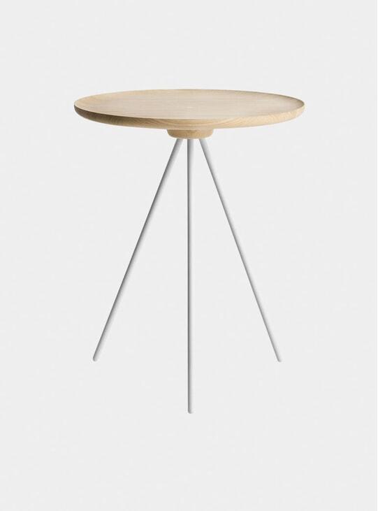 Ash / White Key Side Table