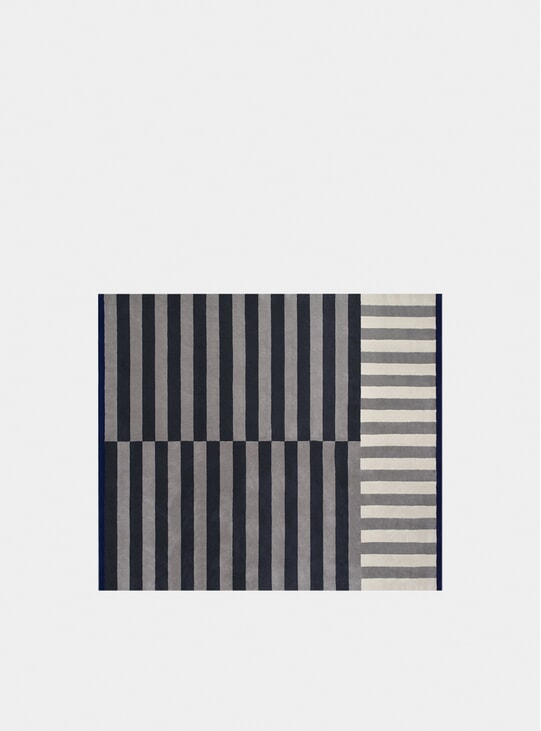 Slate Large Stripe Rug