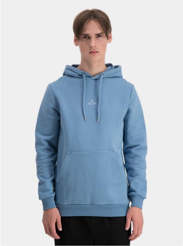 Blue Hanger Hoodie
