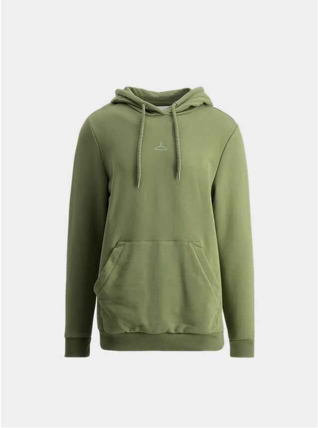 Green Hanger Hoodie