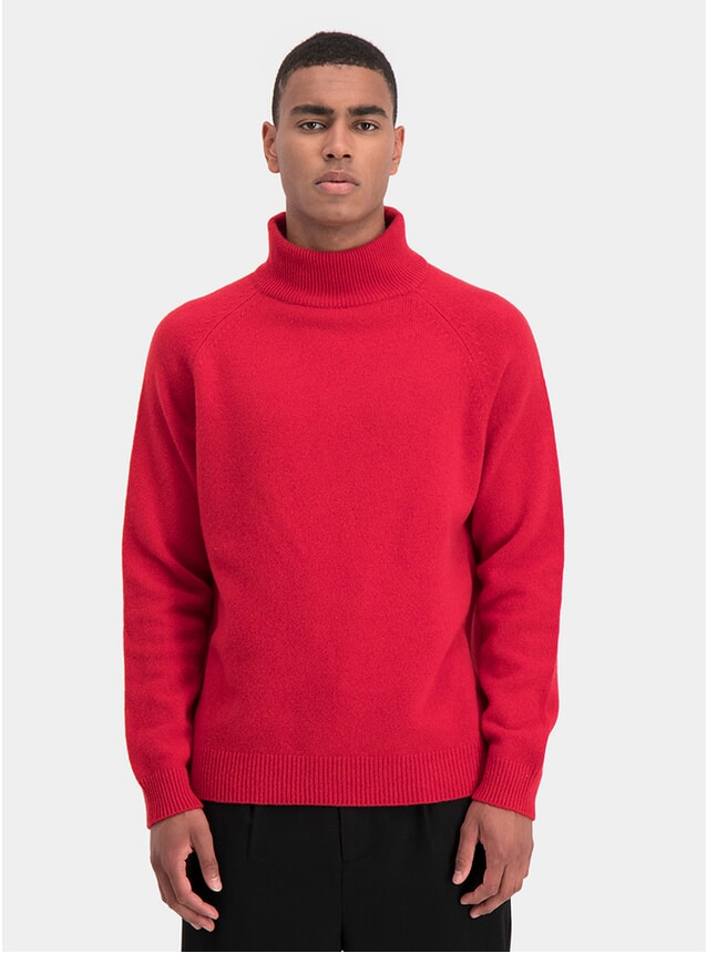 Red Toad Knit Sweater
