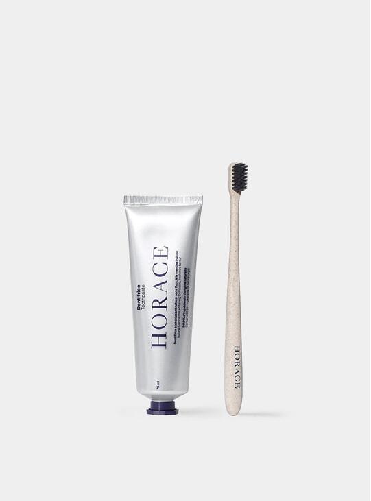 Toothbrush & Whitening Toothpaste