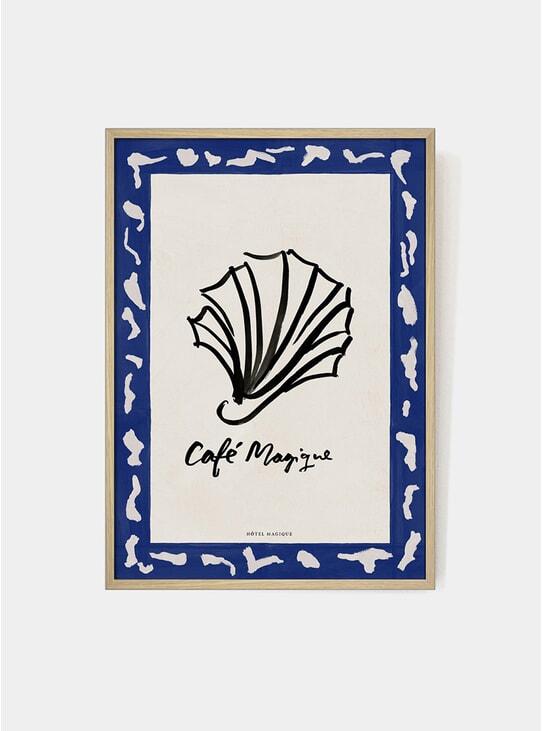 Café Magique Art Print