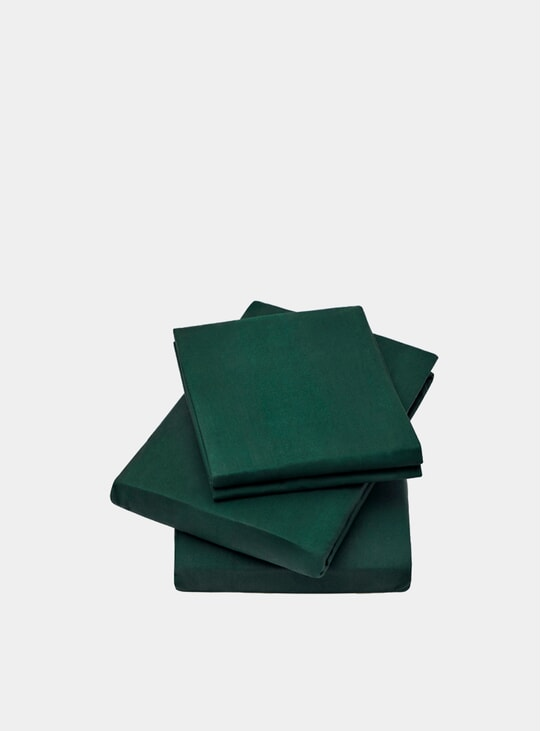 Green Lucid Fitted Sheet