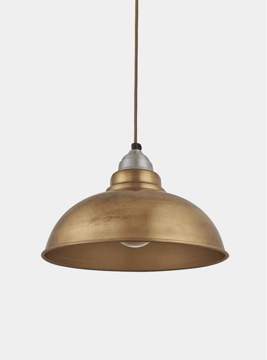 Brass Old Factory Pendant Lamp