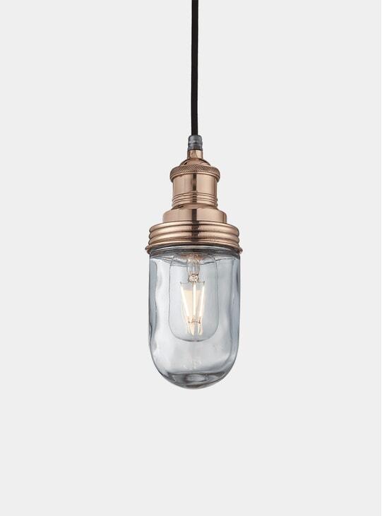 Copper Brooklyn Outdoor & Bathroom Globe Pendant Lamp