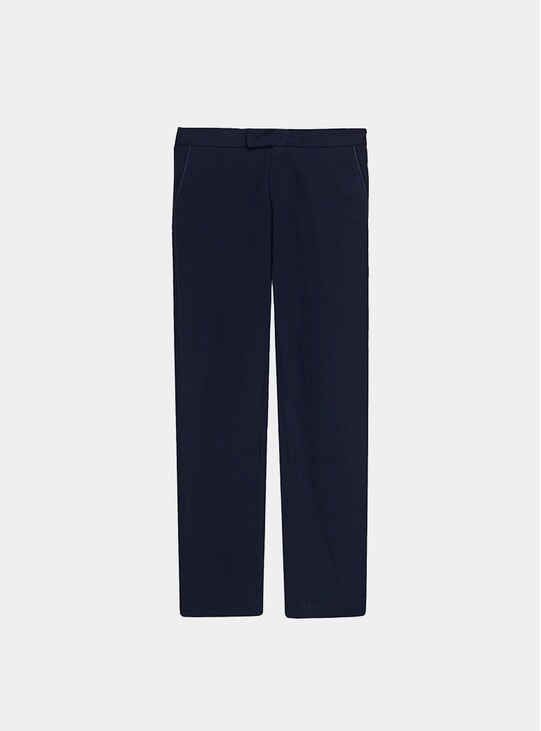 Navy Heavyweight 24 Trousers