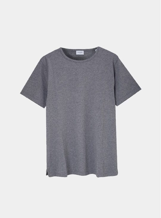Charcoal Supima Cotton Tailored T Shirt