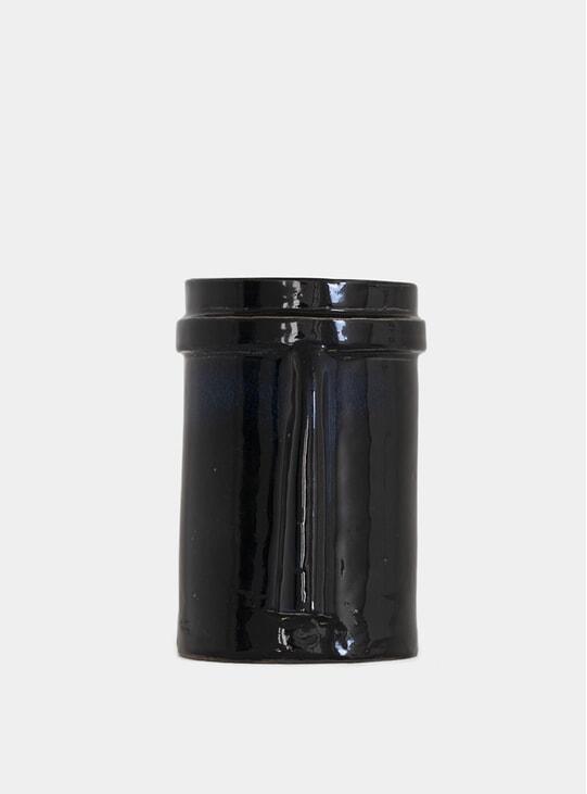 Medium Black Nose Vase