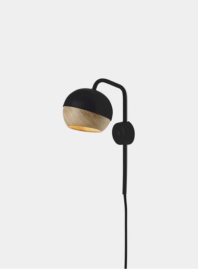 Black Ray Wall Lamp