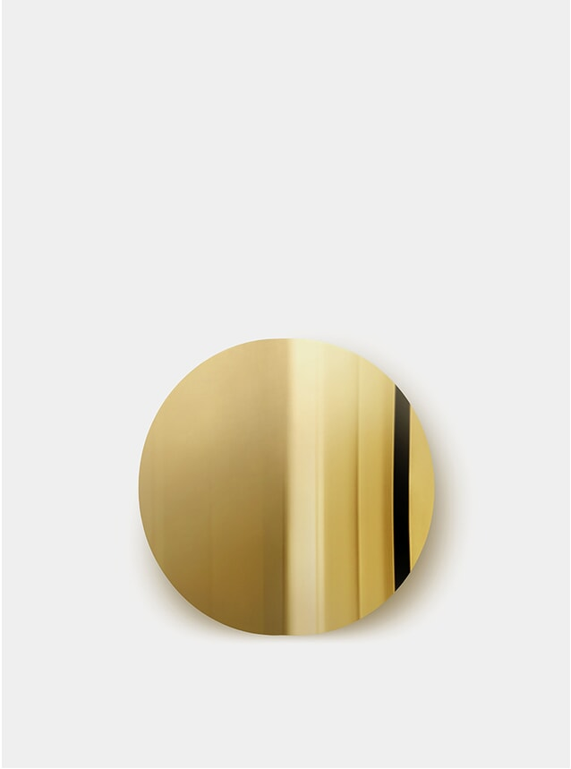 Brass Imago Mirror Object